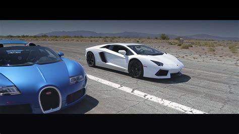 vs sports car video bugatti veyron super sport vs lamborghini aventador