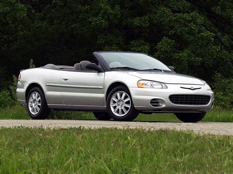 2000 Chrysler Sebring Convertible Reviews by Chrysler Sebring Convertible Specs 2001 2002 2003