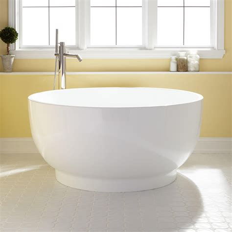 bathtub soaking 51 quot kaimu acrylic japanese soaking tub bathroom