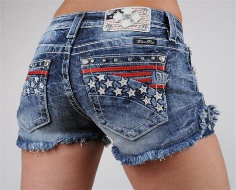 Hotpant Size 27 30 miss me shorts american flag and stripes americana 25 26 27 28 29 30 ebay