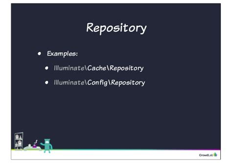 repository pattern vs facade software design patterns in laravel by phill sparks