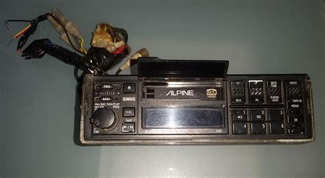 Radio Lamborghini Lamborghini Lm002 Alpine Radio 7235 Emilio Spare Parts