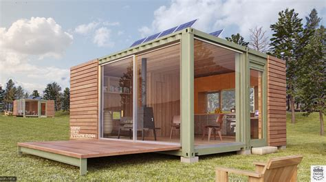 Tiny Houses Texas shipping container cottages