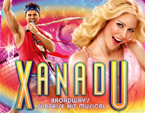 xanadu and the main event – musical theatre melodies