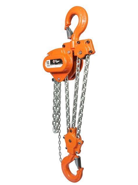 Tomeco 5 Ton X 3 Meter Chain Block Takel Model Triangle Hsz C tiger tcb chain block