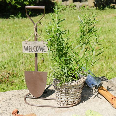 Welcome Garden Planter by Welcome To Garden Entrance Planter By Dibor