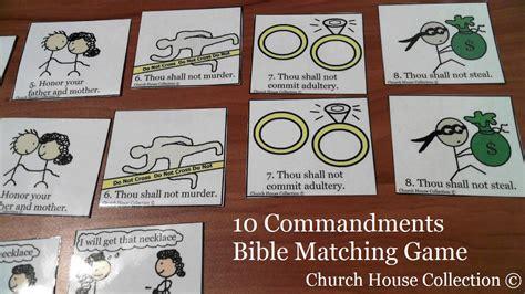 church house collection blog 10 commandments bible