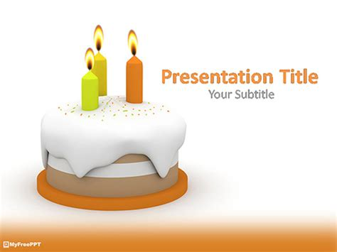 free templates for powerpoint cakes free 3d birthday cake powerpoint template download free