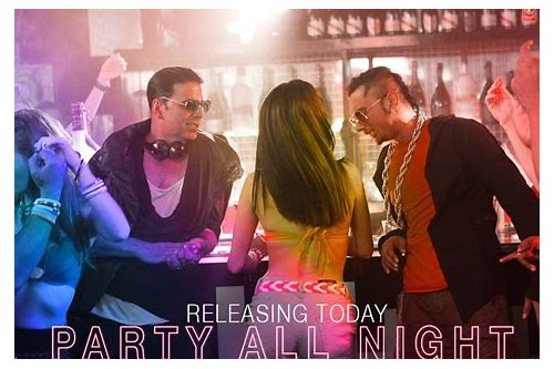 party all night hindi video song download