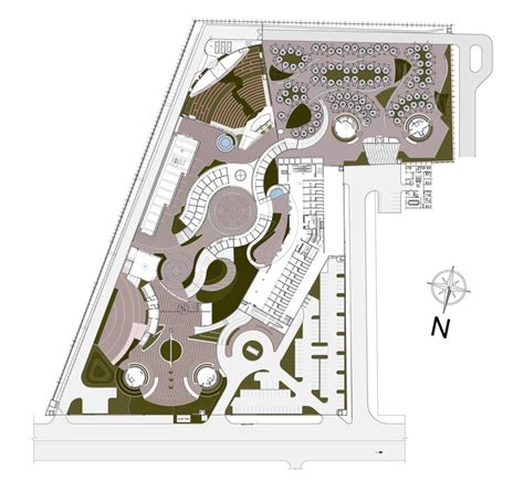 music city center floor plan dilli haat archohm consults archdaily