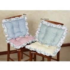 ruffled kitchen chair cushions plaid ruffled kitchen chair cushions set of 2 plaid