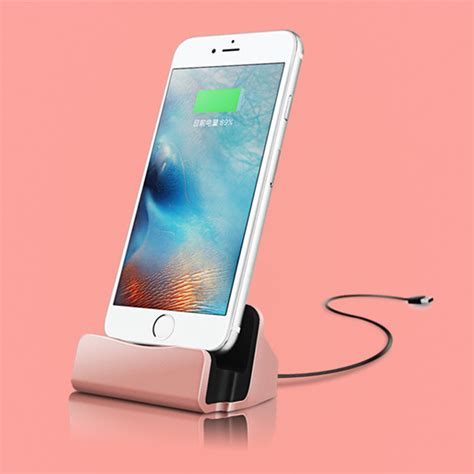 desktop charger stand station sync dock cradle for iphone 7 5s 6 6s plus ebay
