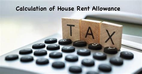 rent allowance section calculation and taxability of house rent allowance hra