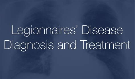 pontiac fever symptoms legionnaires disease diagnosis and treatment for lawsuit