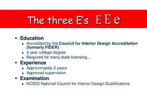 interior design qualifications required damian trevor interior design