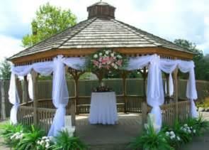 Simple Gazebo Wedding Decorations by Gazebo Vhuppah Formal Wedding Decor Pinterest