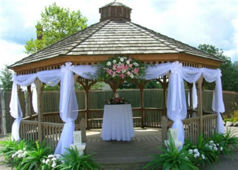 gazebo vhuppah formal wedding decor