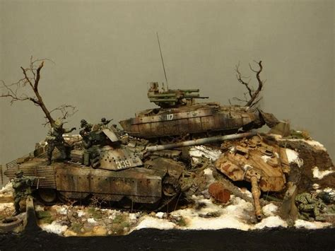 Sarung Army New Model 1 scale model diorama modern russian army modern models modern and