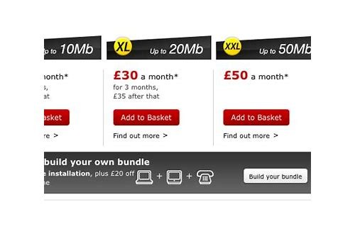 virgin internet and tv deals