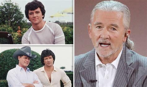 patrick duffy on charlie s angels dallas star patrick duffy unrecognisable from bobby ewing