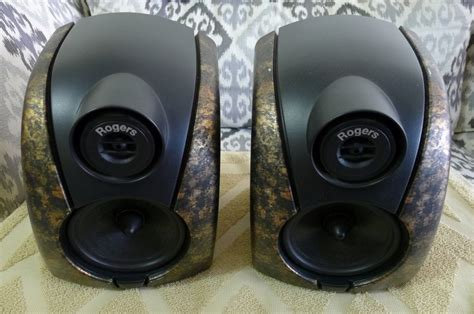 rogers db101 bookshelf speakers used sold