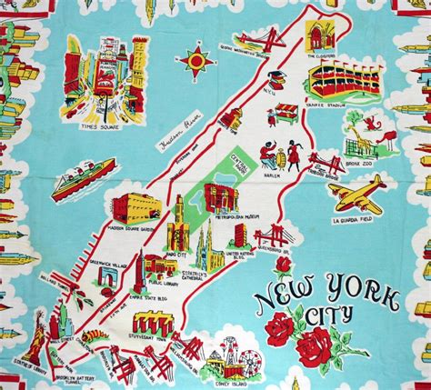 map of new york with attractions map of new york with attractions travel maps and major