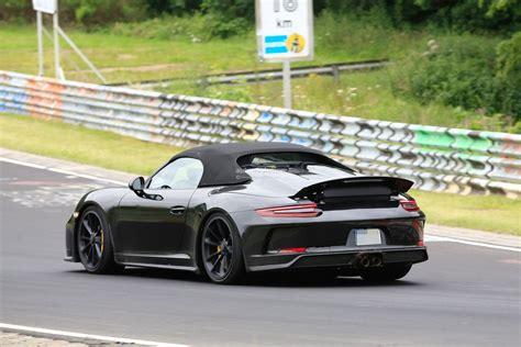 2020 Porsche Speedster by 2020 Porsche 911 Vs 2019 911 Speedster Nurburgring