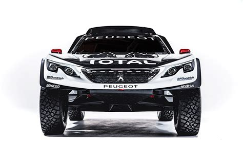 brand new peugeot peugeot scores historic hat trick in 2017 dakar with 3008
