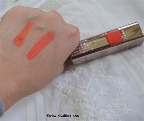 Loreal Color Riche Moist Matte Lipstick l oreal color riche moist matte lipstick orange power review likes