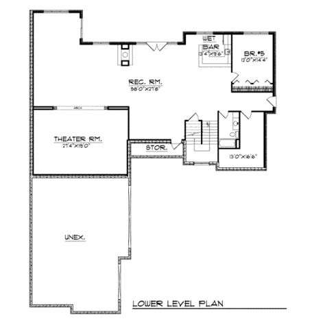 3800 sq ft house plans traditional style house plan 4 beds 3 50 baths 3800 sq ft plan 70 539