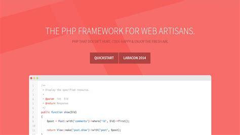 membuat website laravel 20 php frameworks the power of sharing