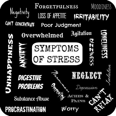 stress symptoms ending the of stress in your
