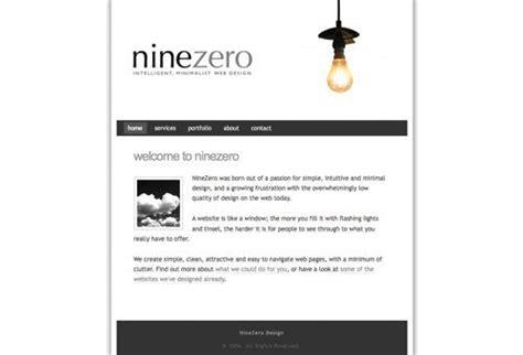minimalist site design 50 clean simple and minimalist website designs