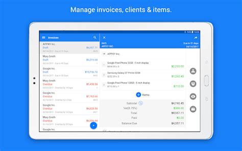 invoice maker tiny invoice android apps on google play