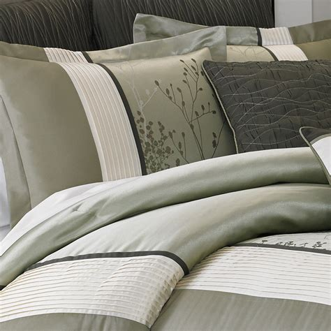manor hill bedding manor hill lark sage complete bedding ensemble from