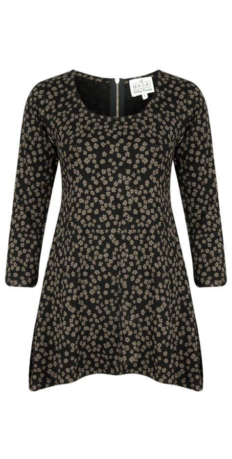 Blouse Fashion Anda masai clothing anda top in khaki print