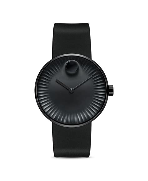 Black Bouverie 40 Mm Watches movado 40mm in black for lyst