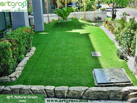 jenis desain foto inilah 7 jenis rumput untuk taman di rumah kamu kang