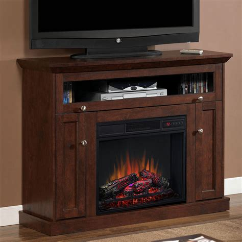 corner tv cabinet with electric fireplace windsor 23 cabinet corner electric fireplace in antique