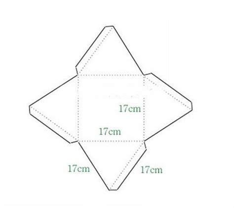 How To Make A Paper Pyramid Template - diy pyramid gift box