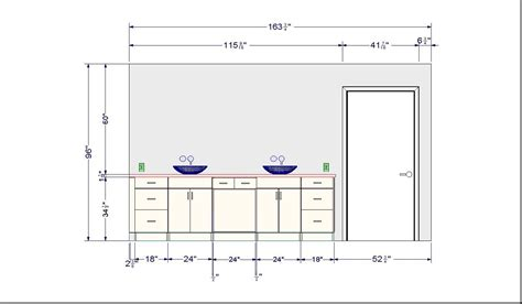 standard bathroom cabinet depth bathroom vanity base cabinet diions gallery including
