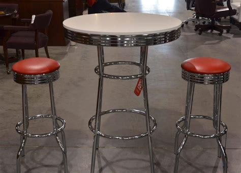 50s Bar Stools Chrome by Retro Chrome Bar Stools Office Barn