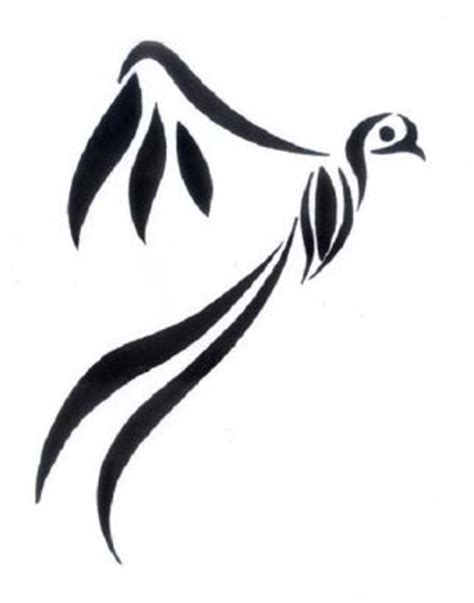 duck tribal tattoo 15 awesome tribal bird only tribal