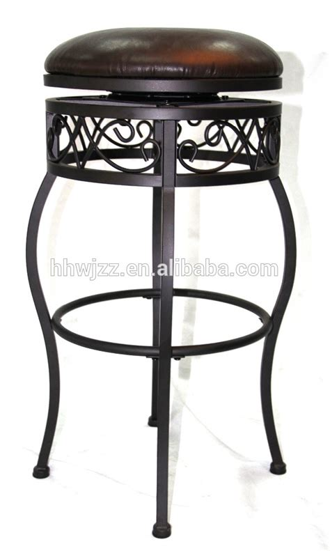 vintage metal stools with back antique style metal bar stool without back buy metal bar