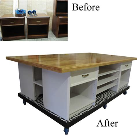 Craft Work Tables by 12 Diy Sewing Table Tutorials