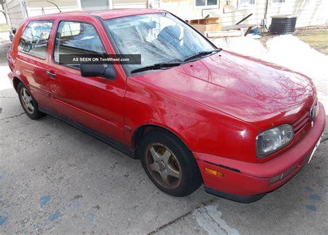 1998 Volkswagen Golf Gti by 1998 Volkswagen Golf Gti Hatchback 2 Door 2 0l
