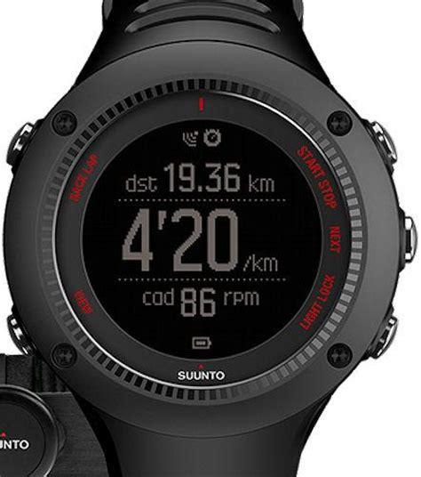 Suunto Ambit3 Run Black Hr Ss021257000 ambit3 run black hr ss021257000 suunto ambit wrist
