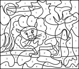 printable color by number printable color by number coloring pages coloring home