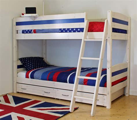 Trendy Beds by Thuka Trendy Bunk Bed B Rainbow Wood