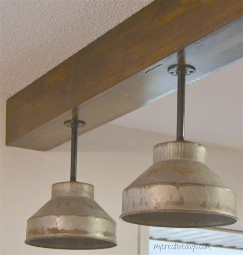 Diy Kitchen Light Fixtures Part 2 My Creative Days Kitchen Pendant Light Fittings